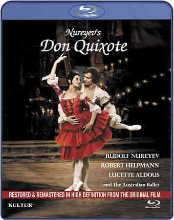 MINKUS:DON QUIXOTE BY NUREYEV,RUDOLF (Blu-Ray)
